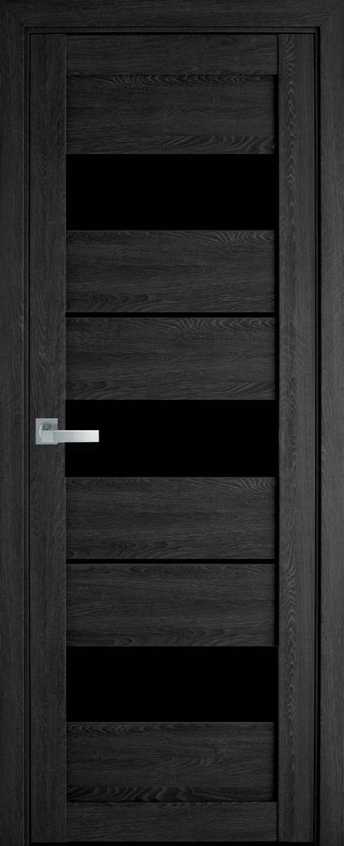 """Міжкімнатні двері """"Лілу"""" BLK 700, колір дуб сірий"""
