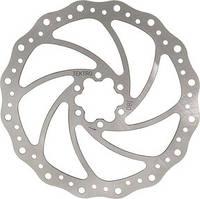 Гальмівний диск BR-X02 180 mm срібн/черв