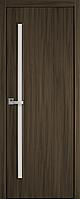 """Міжкімнатні двері """"Глорія"""" G 600, колір кедр , ліві"""