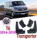 Брызговики MGC VW Volkswagen Transporter Multivan T6 2015-2019 г.в. комплект 4 шт 7H0075111, 7H0075101, фото 4