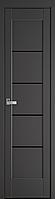 """Міжкімнатні двері """"Міра"""" BLK 400, колір антрацит"""