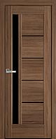 "Міжкімнатні двері ""Грета"" BLK 600, колір золота вільха , ліві"