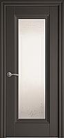 """Міжкімнатні двері """"Престиж"""" G 800, колір антрацит з малюнком Р2"""