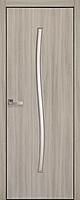 """Міжкімнатні двері """"Гармонія"""" G 600, колір ясен патина , ліві"""
