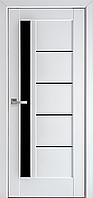 """Міжкімнатні двері """"Грета"""" BLK 900, колір білий матовий , ліві"""