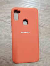 Чехол Samsung A11/M11 Original Full Case Orange