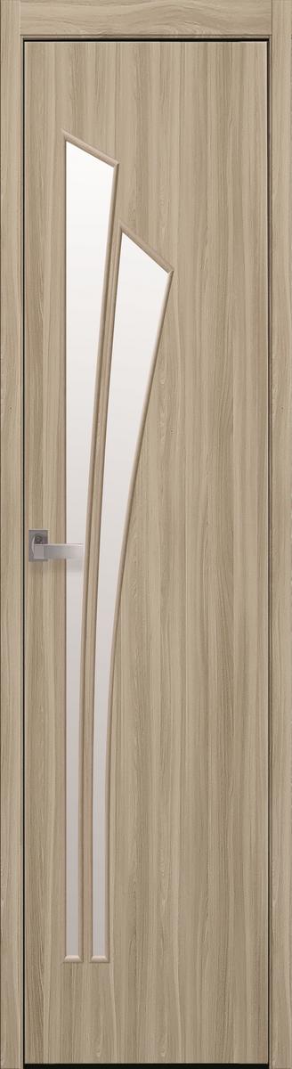 "Міжкімнатні двері ""Лілія"" G 400, колір сандал , ліві"