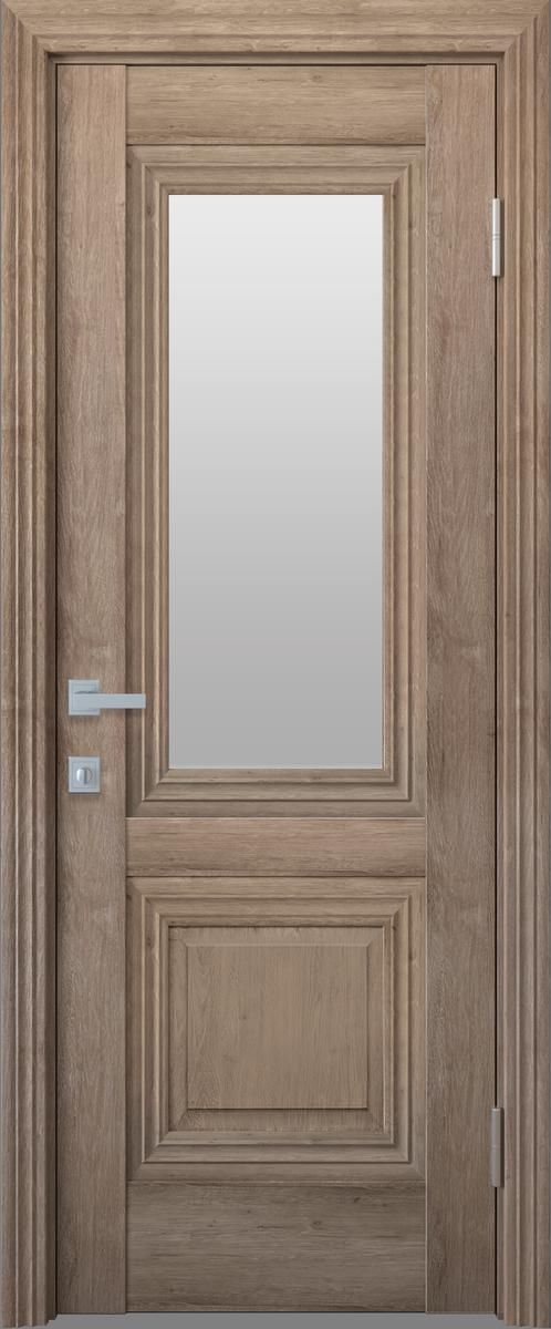 """Міжкімнатні двері """"Канна"""" G 600, колір горіх європейський"""