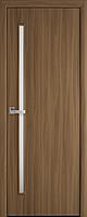 """Міжкімнатні двері """"Глорія"""" G 600, колір вільха 3D , ліві"""