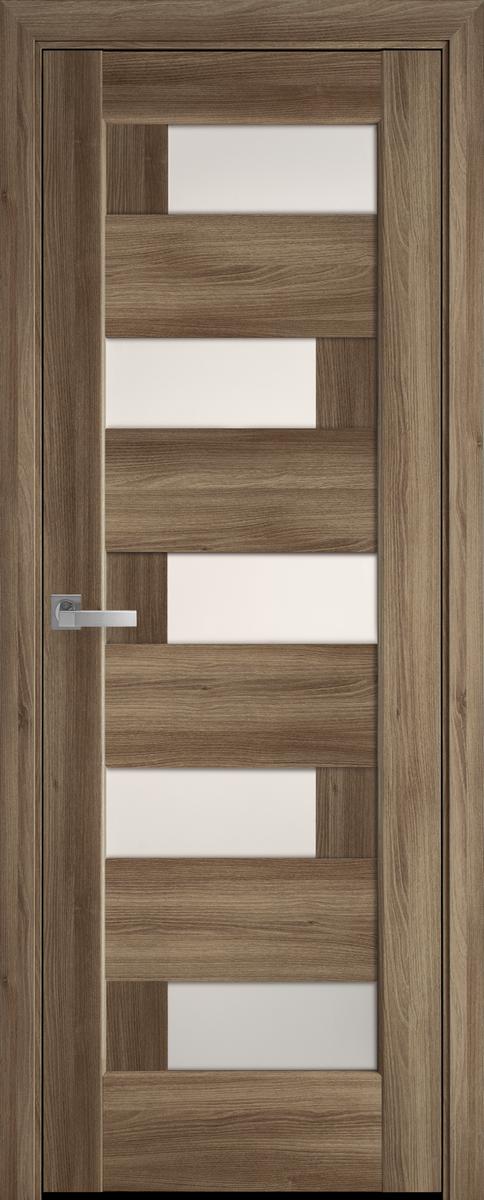 """Міжкімнатні двері """"Піана"""" G 600, колір золотий дуб , ліві"""