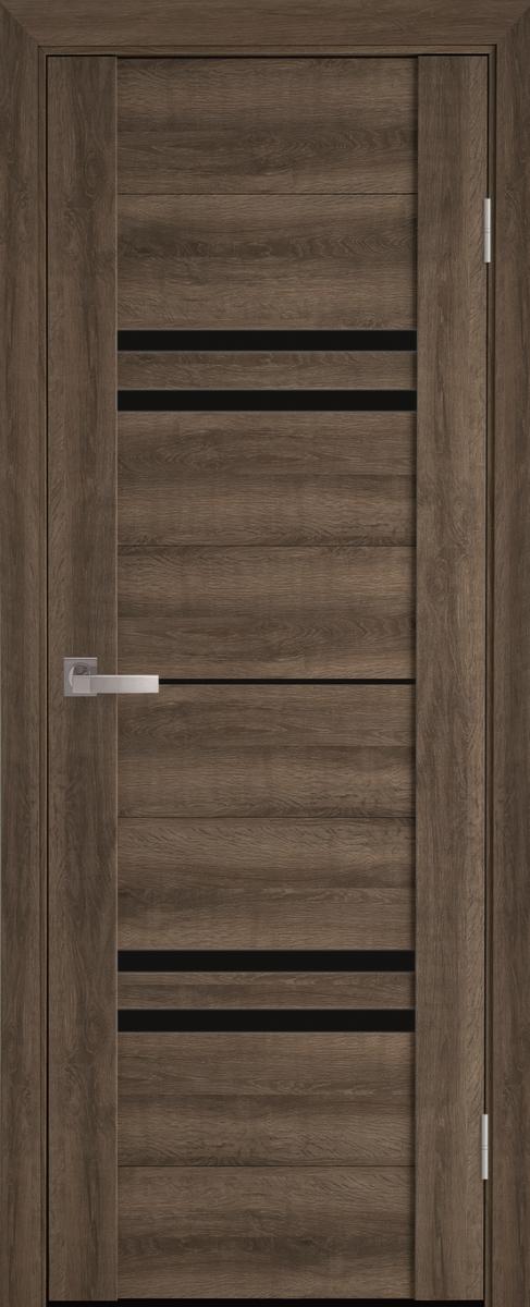 """Міжкімнатні двері """"Меріда"""" BLK 600, колір бук шато"""