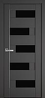 """Міжкімнатні двері """"Піана"""" BLK 800, колір антрацит"""