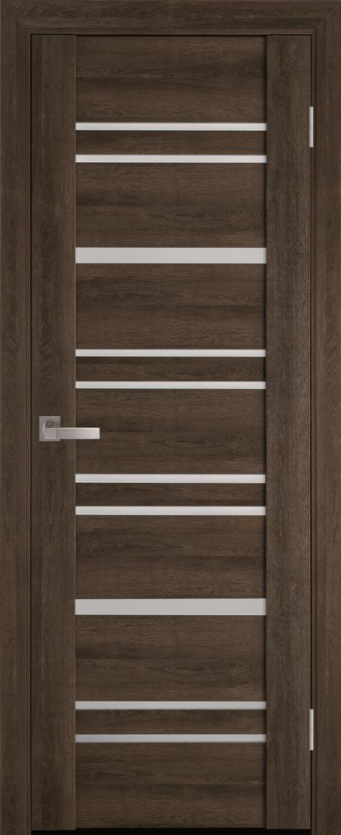 "Міжкімнатні двері ""Валенсія"" G 600, колір бук табачний"