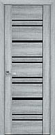 """Міжкімнатні двері """"Валенсія"""" BLK 600, колір бук кашемір"""