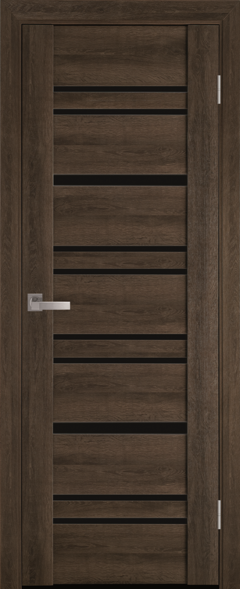 """Міжкімнатні двері """"Валенсія"""" BLK 700, колір бук табачний"""