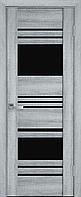 """Міжкімнатні двері """"Ніцца"""" BLK 600, колір бук кашемір"""