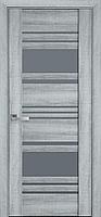 """Міжкімнатні двері """"Ніцца"""" GRF 800, колір бук кашемір"""