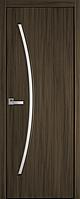 """Міжкімнатні двері """"Діва"""" G 700, колір кедр , ліві"""