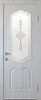 """Міжкімнатні двері """"Вензель"""" G 700, колір ясен new з малюнком Р1"""