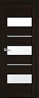 "Міжкімнатні двері ""Лілу"" G 600, колір венге браун"