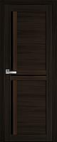 "Міжкімнатні двері ""Трініті"" BLK 600, колір венге браун"