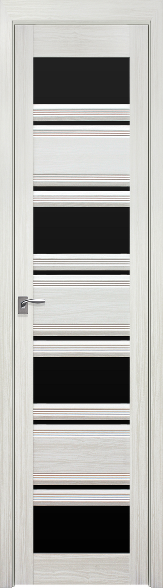 "Міжкімнатні двері ""Венеція C2"" BLK 400, колір біла перлина"
