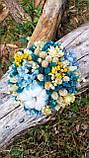 Букет из сухоцветов и стабилизированных цветов, фото 2