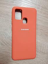 Чехол Samsung A21S Original Full Case Orange