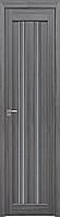 """Міжкімнатні двері """"Верона C1"""" GRF 400, колір перлина графіт"""