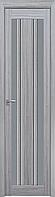 """Міжкімнатні двері """"Верона C2"""" GRF 400, колір перлина срібна"""