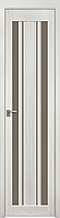 "Міжкімнатні двері ""Верона C2"" BR 400, колір перлина біла"