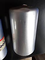 Свеча цилиндр Bolsius 12 см серебристая (УЦЕНКА), фото 1