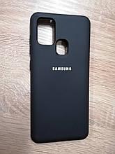 Чехол Samsung A21S Original Full Case Black