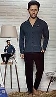 Пижама мужская со штанами и рубашкой
