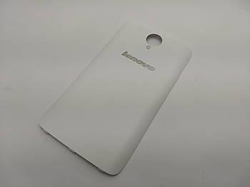 Задняя крышка Lenovo S650 Белый Сервисный оригинал с разборки