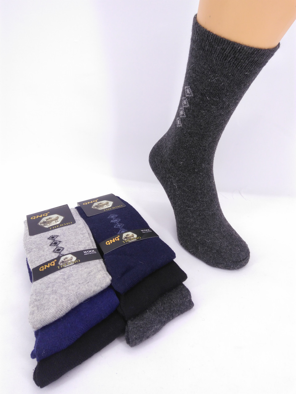 Мужские носки Ангора (43-46 обувь.)