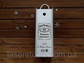 Подарочная коробка для алкоголя Jack Daniels с Логотипом