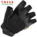Беспалые тактические перчатки Mechanix M-Pact Black, фото 2