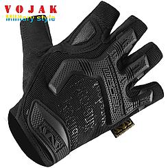 Беспалые тактические перчатки Mechanix M-Pact Black