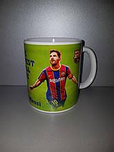 Чашка чайная футбольная с изображением Месси