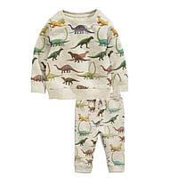 Детский спортивный костюм для мальчика динозавры