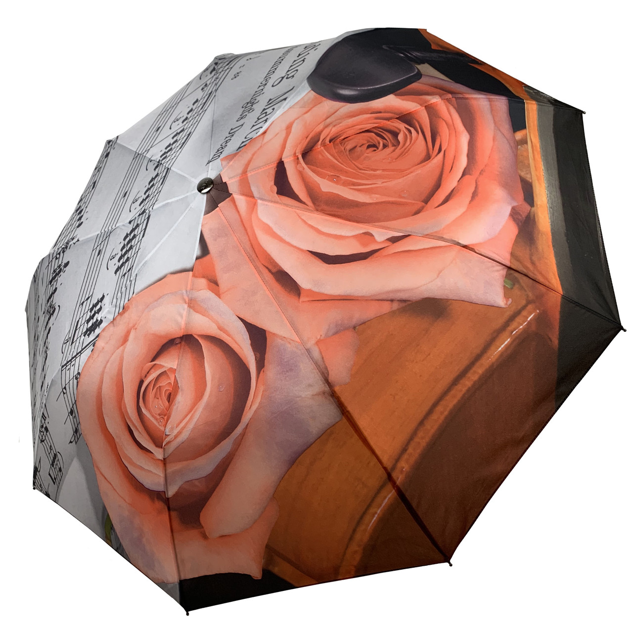 """Однотонный зонт-полуавтомат """"ЗВЕЗДНОЕ НЕБО"""" от фирмы """"Max"""", розовый, 3065-1"""