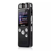 Профессиональный цифровой диктофон Savetek GS-R07, 16 Гб памяти, стерео, SD до 64 Гб, голосовая активация