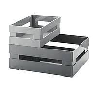 Набор из двух ящиков универсальных серого цвета 169500177 GUZZINI