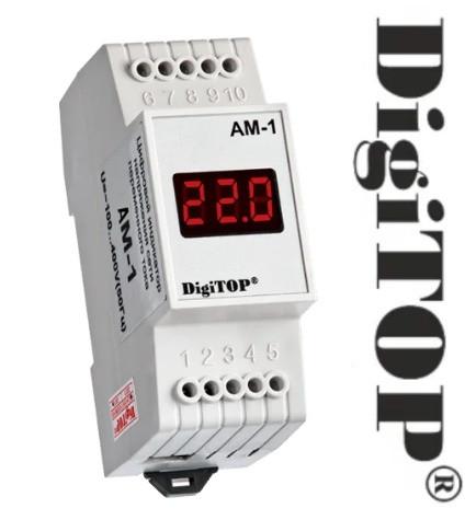 Цифровой амперметр DigiTOP АМ 1