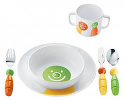 Набор детский: столовая, суповая тарелка, столовые приборы, кружка 07500152 GUZZINI