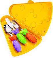 Набор детских столовых приборов 3 шт в футляре 07510052 GUZZINI