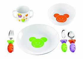 Набор детский: столовая, суповая тарелка, столовые приборы, кружка 07560052 GUZZINI