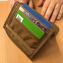 M-Tac кошелек с липучкой Elite Coyote, фото 6