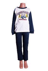 Комплект: кофта, штаны Для мальчиков Синий Размер  110